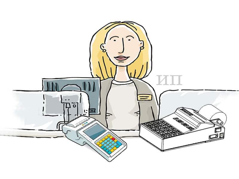 Онлайн-касса для ИП без работников — нужна ли?