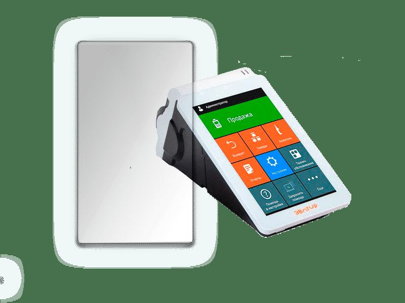 Защитное стекло для ЭВОТОР 7.2