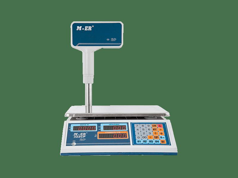 Весы Mercury M-ER 322CP LED/LCD