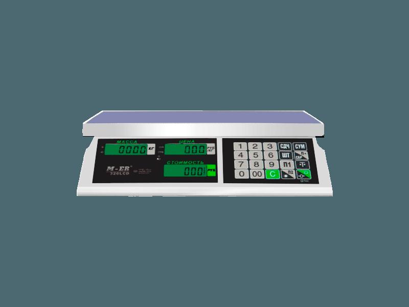 Весы Mercury M-ER 326AC 15.2 LCD