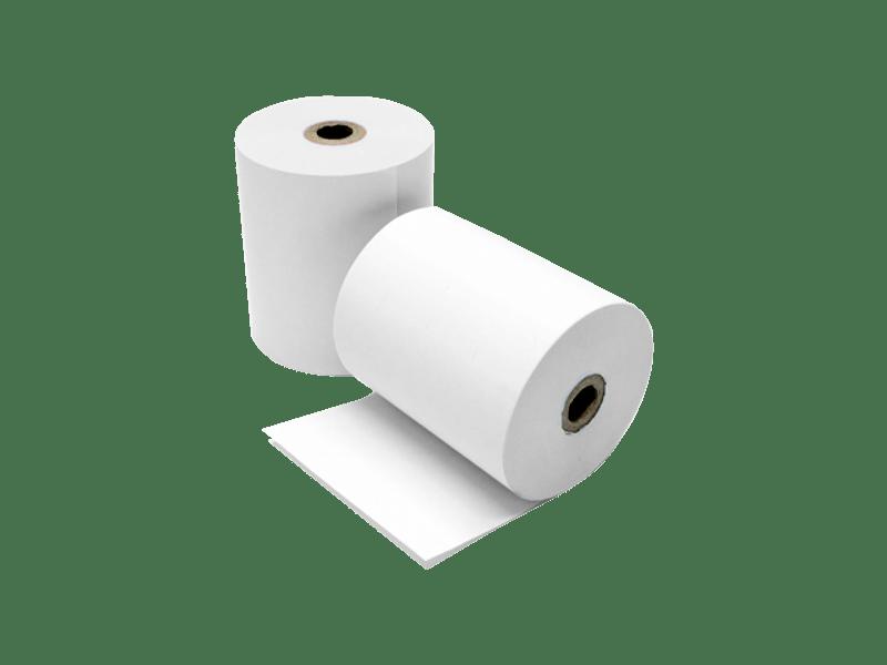 Чековая лента 80 мм термо 50 м/рулон (втулка 12 мм)