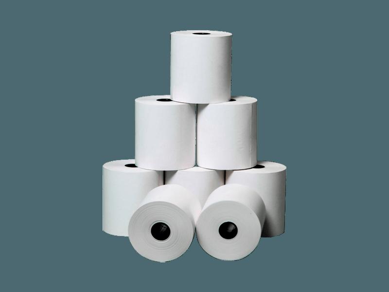 Чековая лента 80 мм термо 80 м/рулон (втулка 25,4 мм)