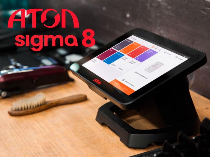 Атол Sigma 8 обзор на смарт-терминал — Сигма Услуги