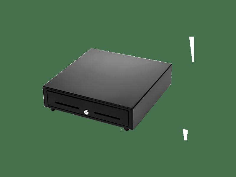 Денежный ящик 410 B черный/белый