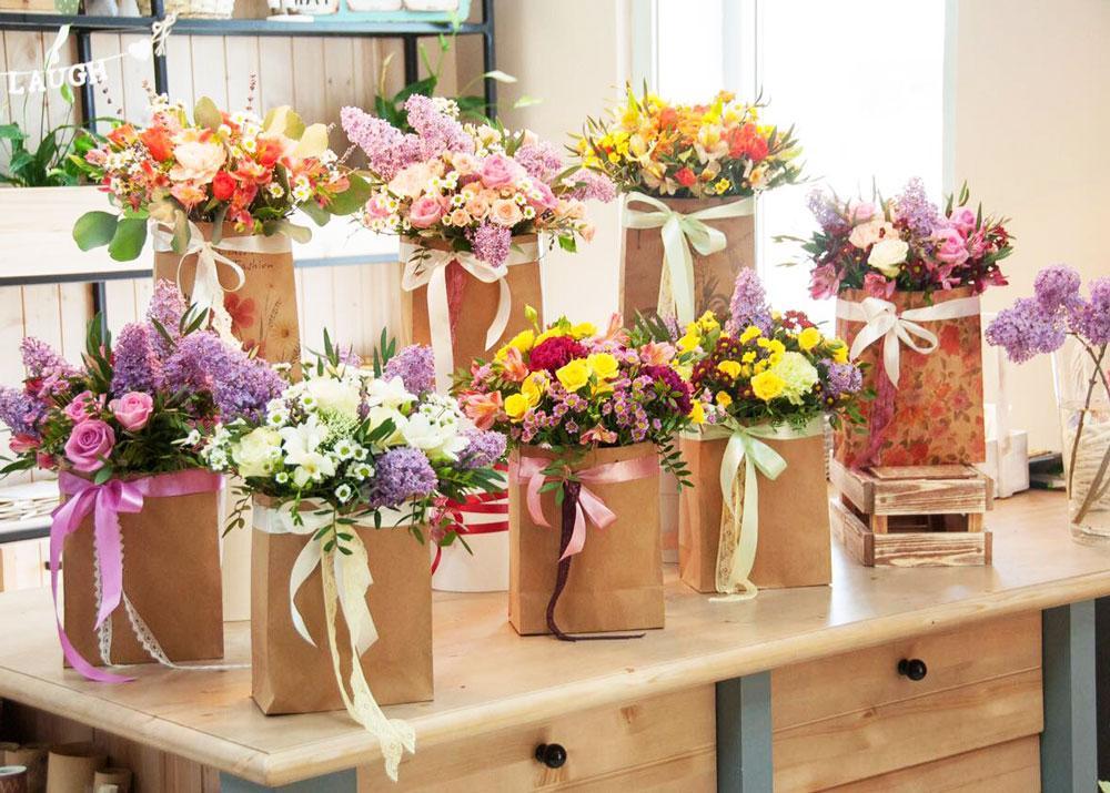 Торговля цветами