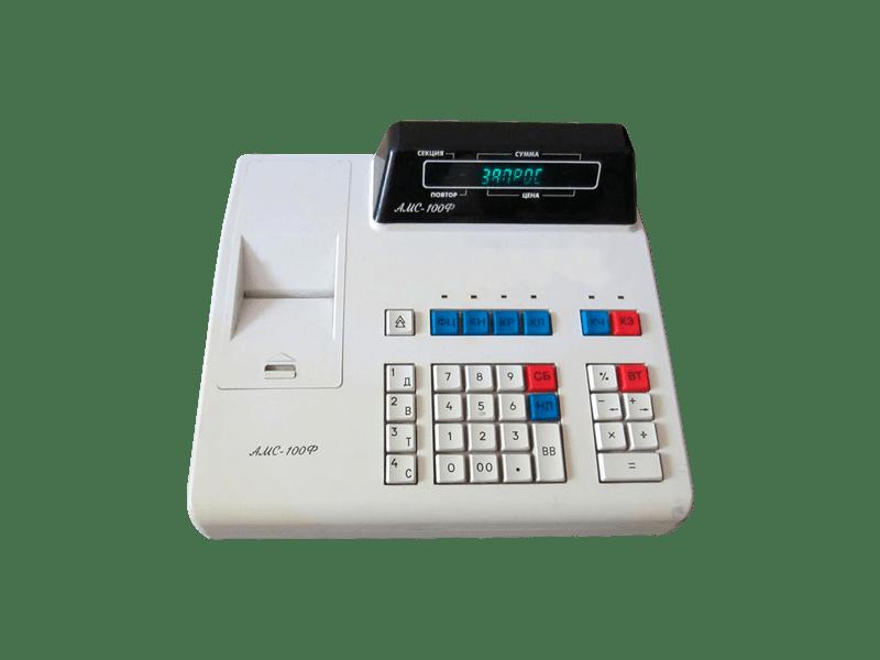 Кассовый аппарат АМС 100Ф