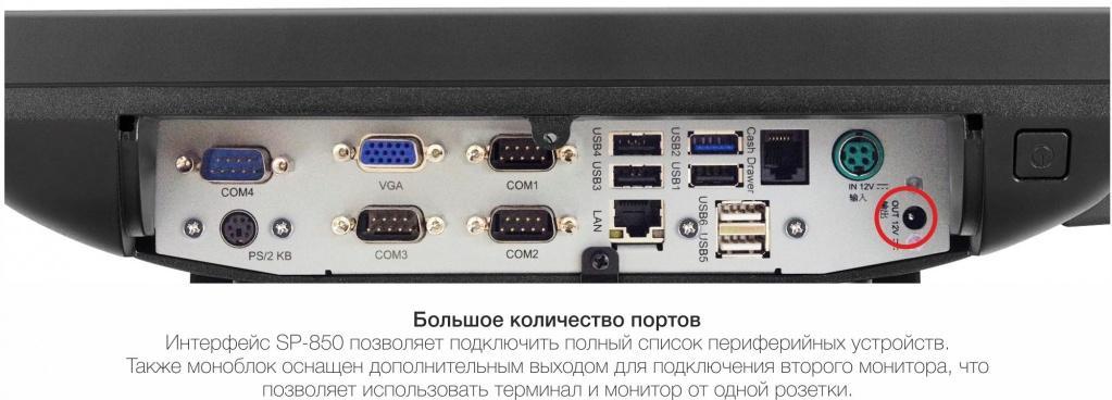 Интерфейсы partner sp 850 bz
