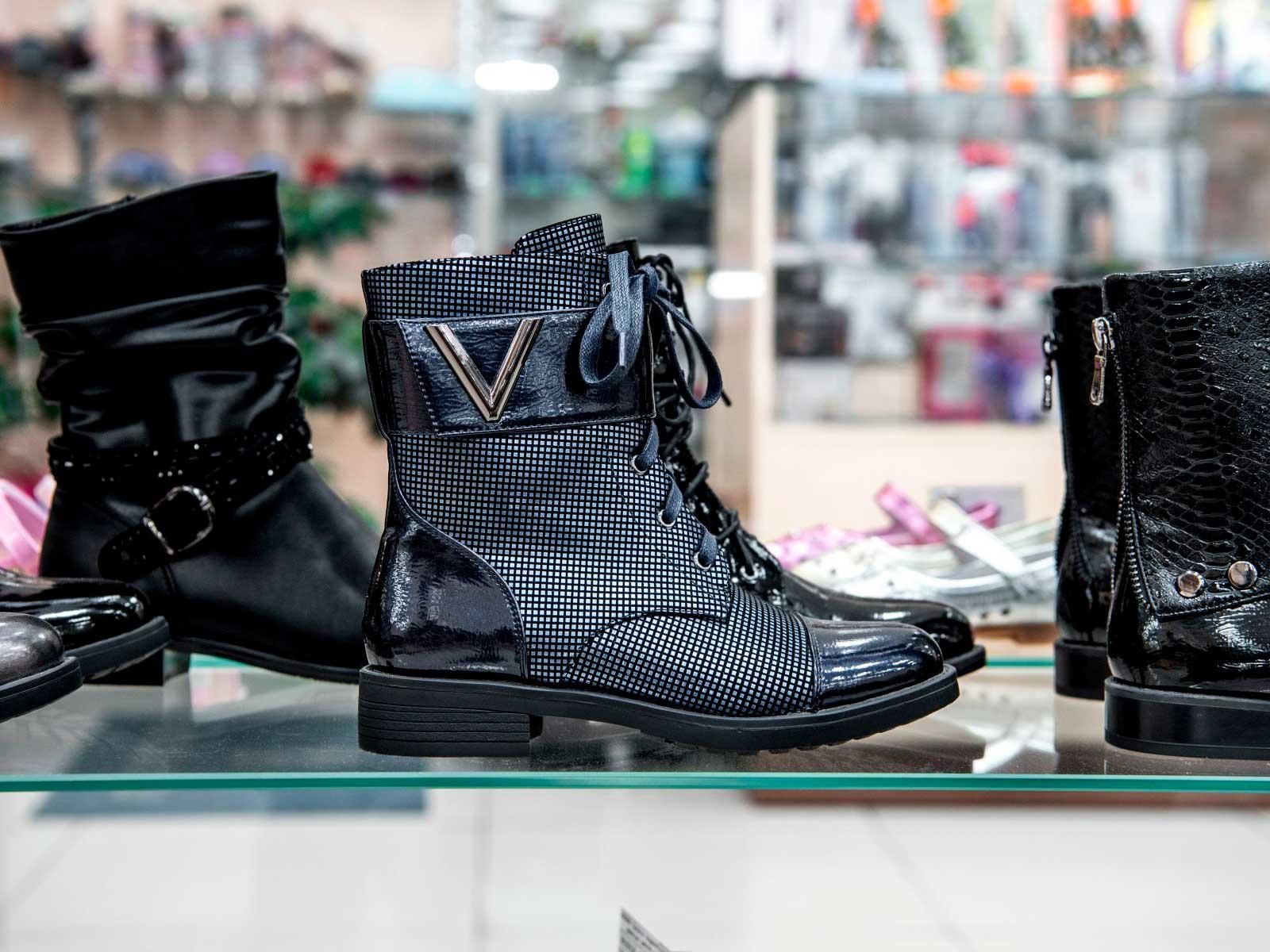 Онлайн-касса для магазина обуви