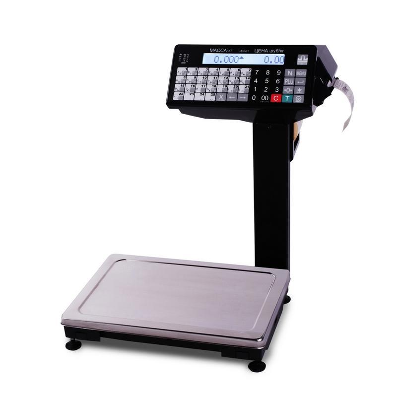 Весы с печатью этикеток ВПМ Ф