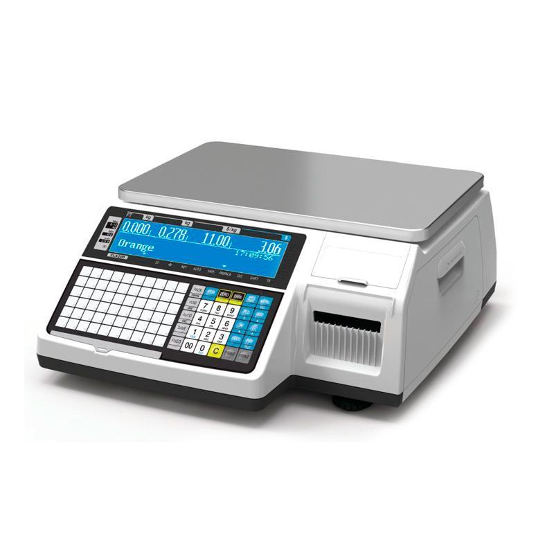Весы CAS CL3000 с печатью этикеток