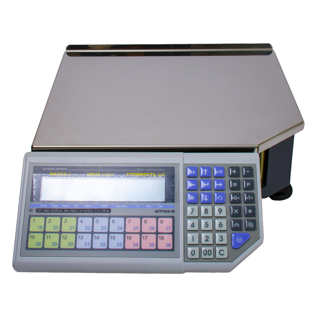 Весы с печатью этикеток Штрих Принт ФI 15-2.5 Д2И1