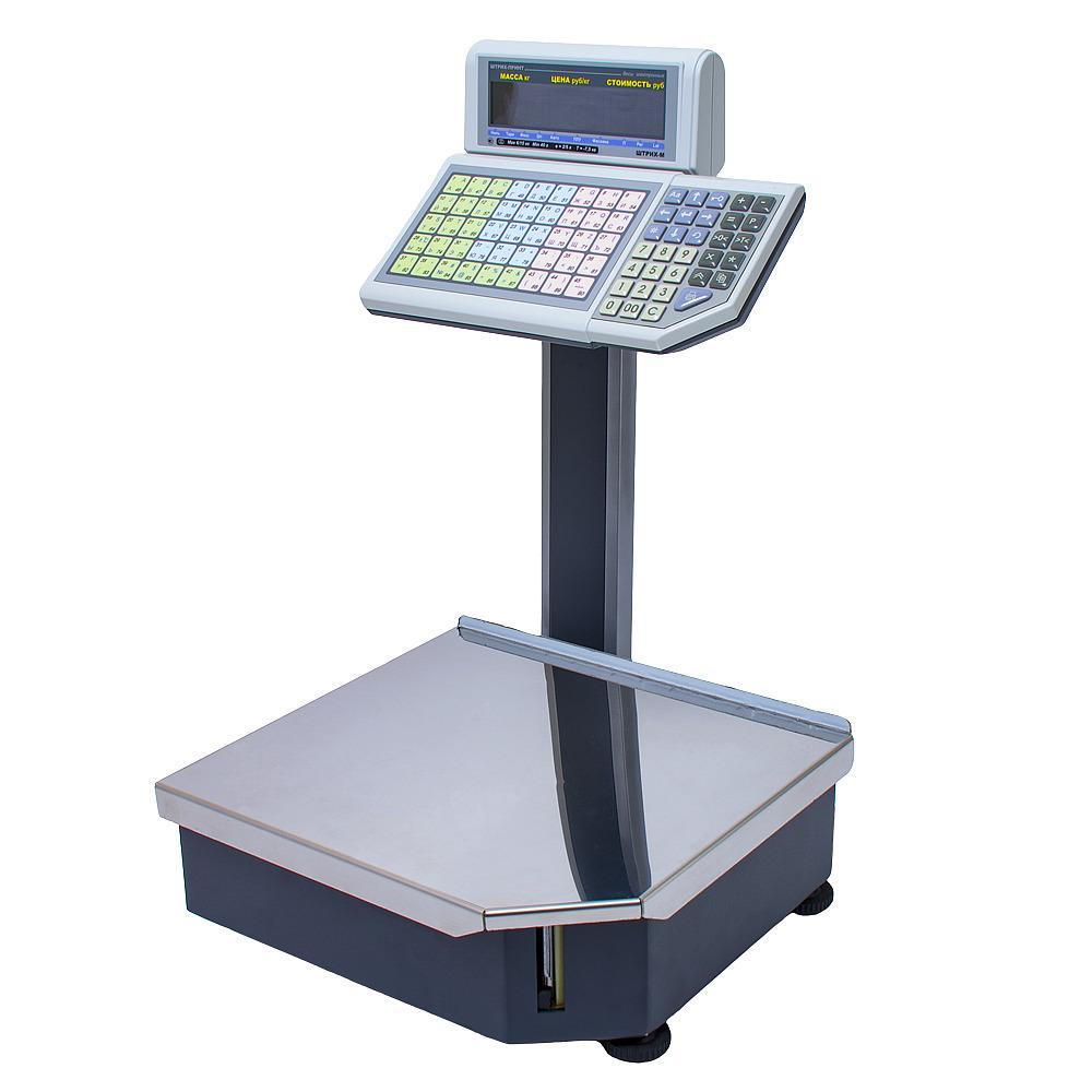 Весы Штрих Принт 15-2.5 Д1И1 с печатью этикеток