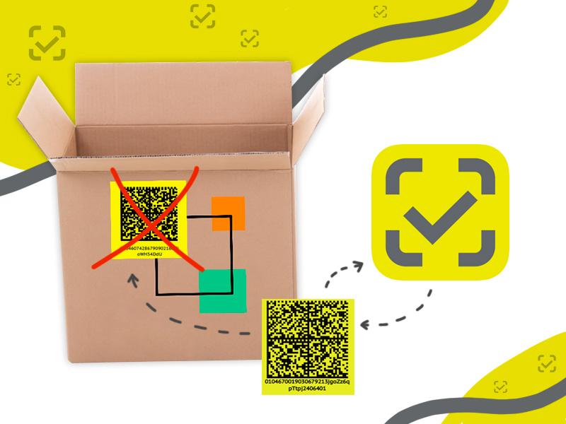 Правила перемаркировки продукции в системе «Честный ЗНАК»