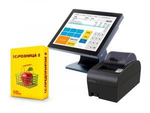 Комплект автоматизации на базе 1С Розница 8